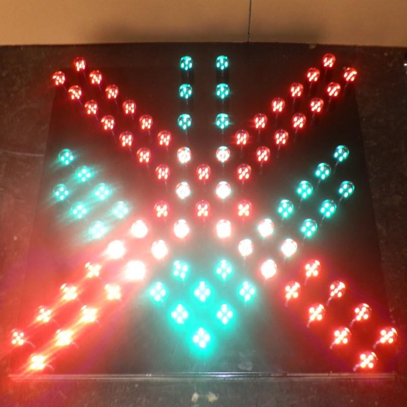 600红叉绿箭头信号灯