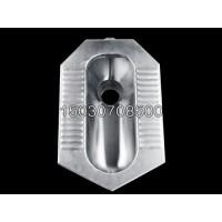 新型不锈钢蹲便器 后排水 带防臭