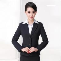 韩版职业装修身西服套装上海谦锦西装厂家上门量身定做个性西服