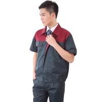 短袖工作服套装汽修劳保服定做车间工作服厂服定制工服套装