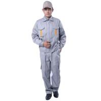 长袖工作服套装订做机修工作服上衣工厂劳保服套装厂服包邮