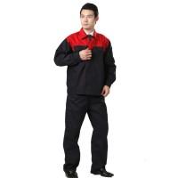 防污防油工作服套装 工装 工服定做包印LOGO 长袖工作服