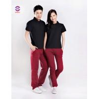 定制男女条纹多选t恤衫修身显瘦印花Polo衫订做上海T恤工厂
