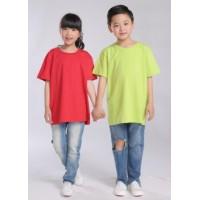 儿童翻领POLO衫多款多色可选亲子装T恤衫空白可印绣图案