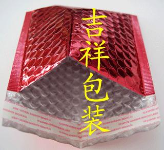 红色镀铝膜气泡袋1