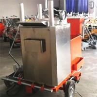 宽度能调节的稻香热熔划线车 热熔标线机