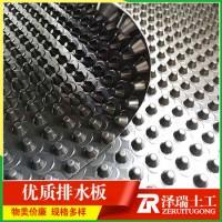 供应天津2米宽卷材排水板HDPE排水板