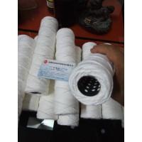 10寸不锈钢骨架绕线滤芯脱脂棉线PP丙纶线工业缠绕式水滤芯