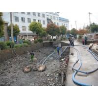 常熟河道清淤鱼塘池塘清淤抽污泥